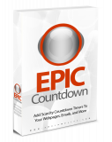 Epic Countdown (Englische Wp Plugin)