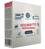 Website Manager Software. (Englische MRR)