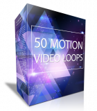 50 Motion Video Loops. (PLR)