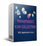 Transparent Icon Collection. (RR)