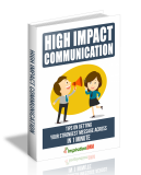 High Impact Communication. (MRR)