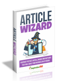 Article Wizard. (MRR)
