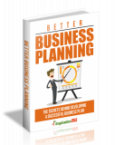 Better Business Planning. (MRR)