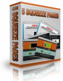 5PLR Squeeze Pages. PLR